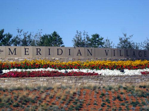 Meridian Village Neighborhood Entrance