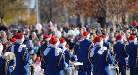 Christmas Parade in Parker Colorado
