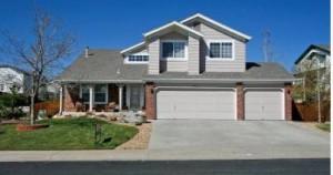 Typical home in Parker Vista Neighborhood in Parker, Colorado