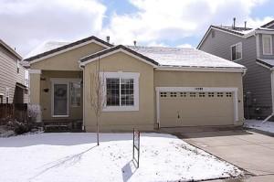 Exterior front photo of 12392 Nate Circle, Parker Colorado