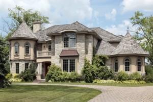 Stone exterior luxury custom home
