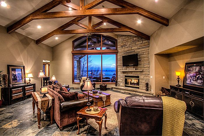 Ranch style custom home