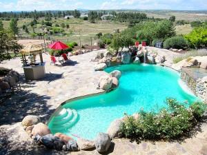 Pool at 7250 Fox Creek Trail