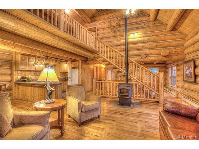 Homes For Sale MLS Real Estate Listings Colorado Custom Log Home