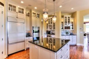 Pradera custom home kitchen
