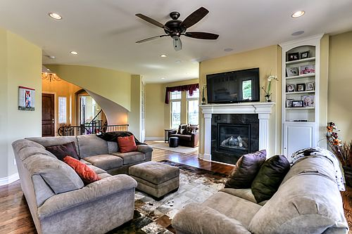 Family room in Stonegate Village