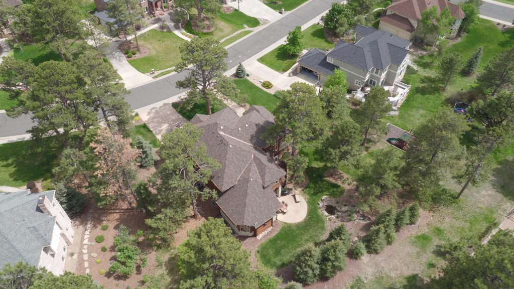 5431 Golden Currant Way Parker- Aerial photo