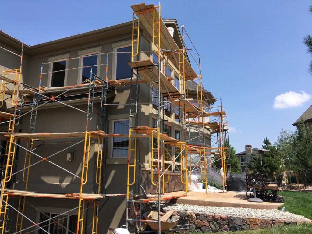 Stucco repair and replacement