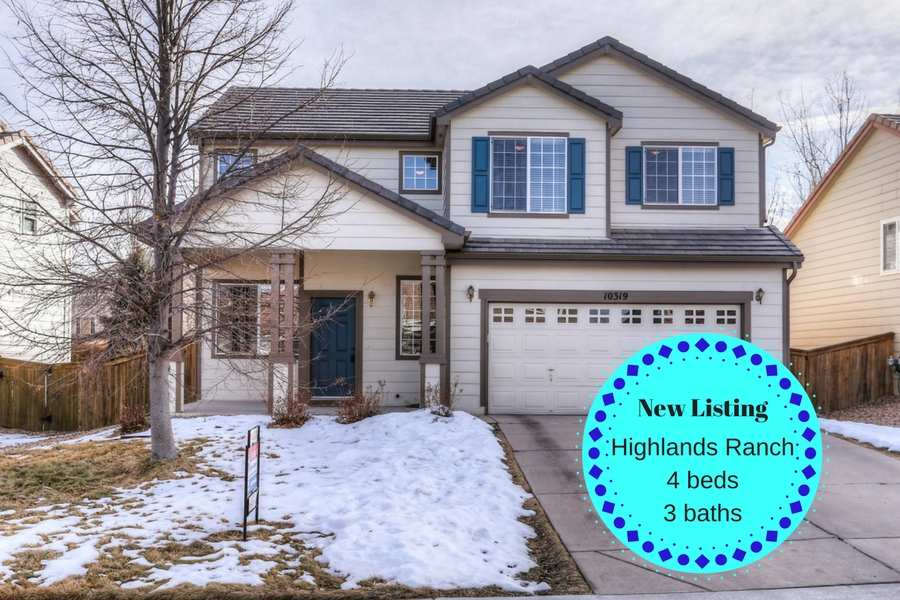 New Listing 10319 Tracewood Dr. Highlands Ranch CO 80130