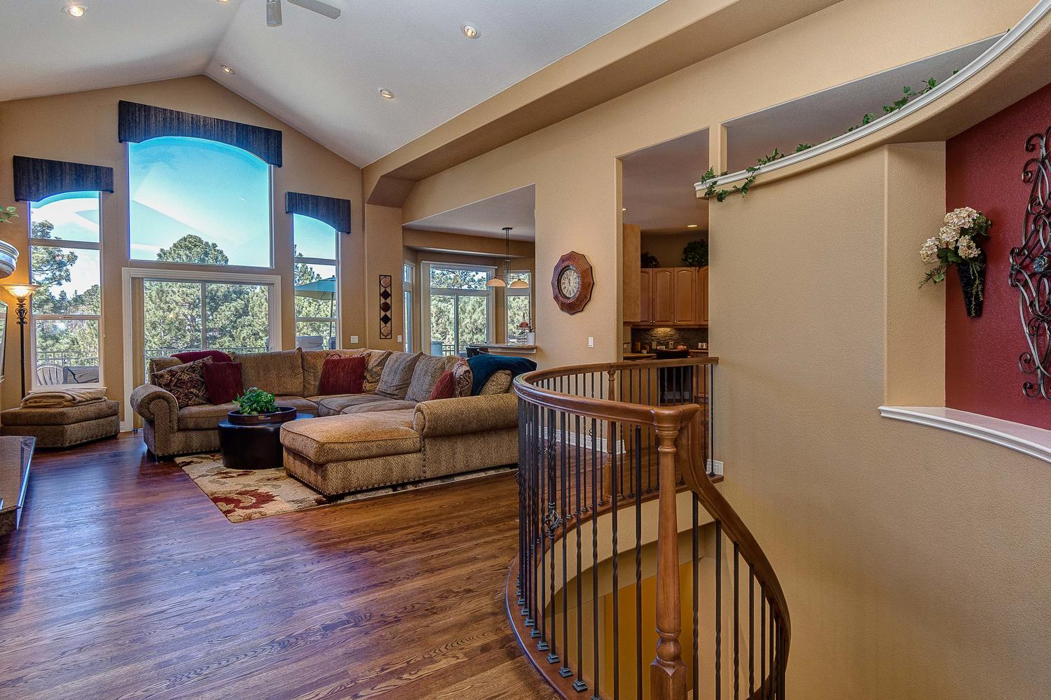 The Timbers Custom Ranch Style Home