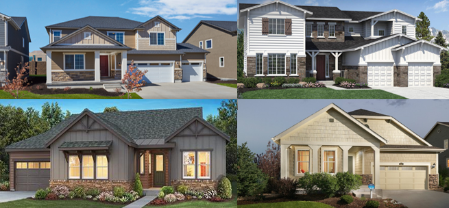 New Home Communities In Parker Co 2018