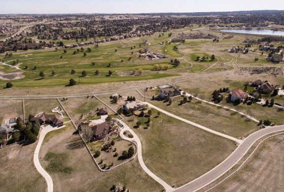 6088 Saddle Creek Trl Parker, CO 80134 Aerial View