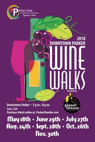 Wine Walk Parker CO 2018