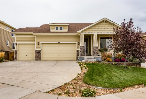 For Sale Ranch Style Home Parker Colorado