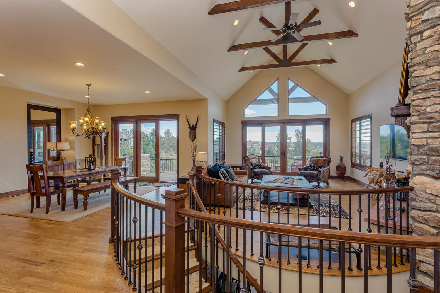 The Timbers Custom Ranch Home For Sale