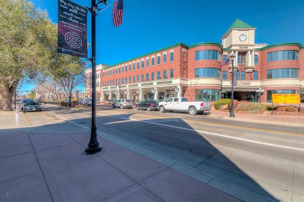 Parker Station building downtown Parker, Colorado