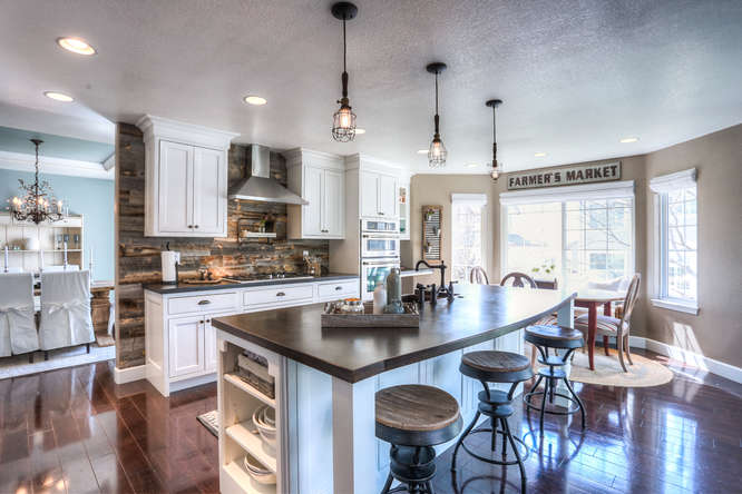 Kitchen in a Stonegate Neighborhood home