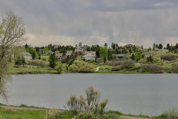 Bingham Lake in The Pinery neighborhood