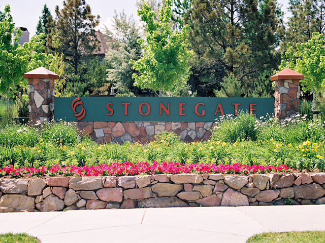 Stonegate Neighborhood Entry