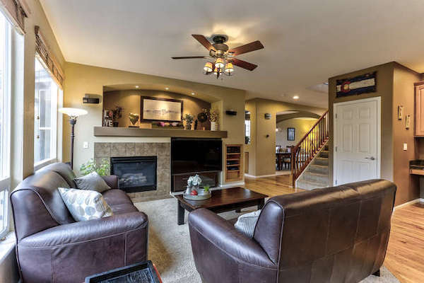 Home in Newlin Meadows Family Room