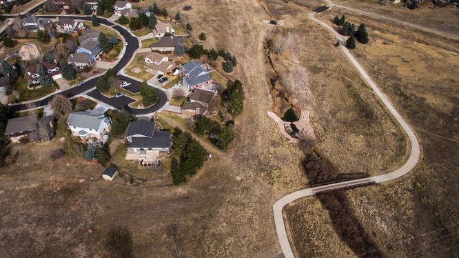 Rowley Downs Neighborhood aerial photo