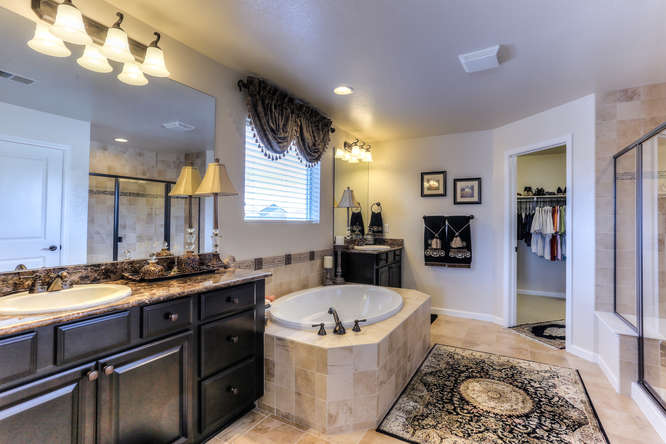 Villages of Parker Master bathroom